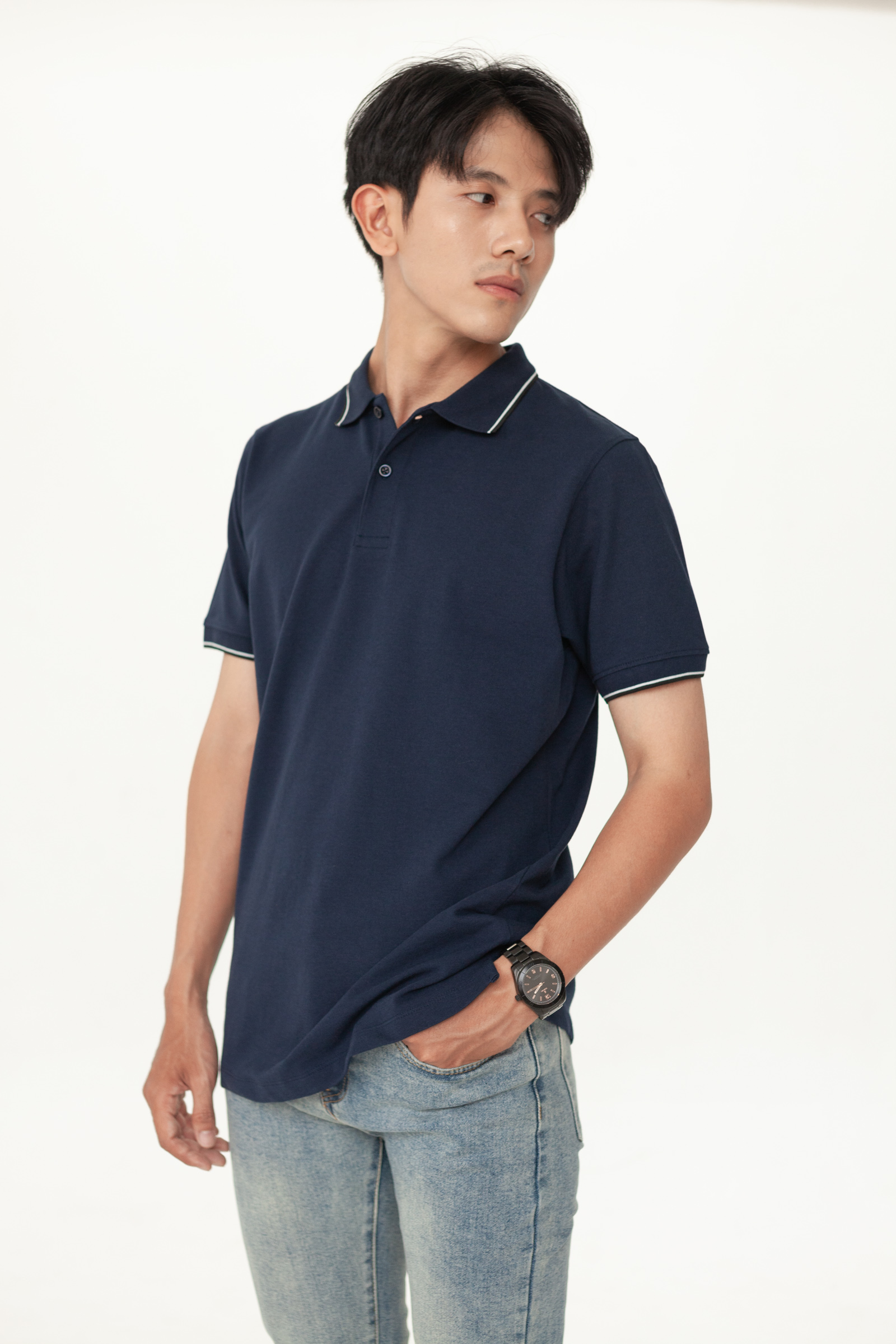 Look FITTED POLO