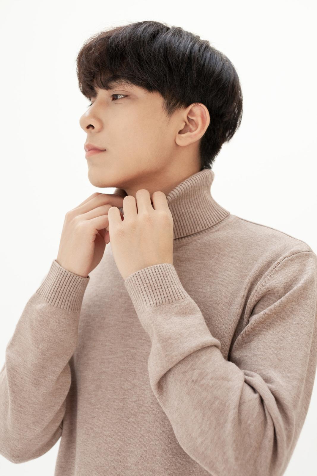 Look Turtle neck sweater