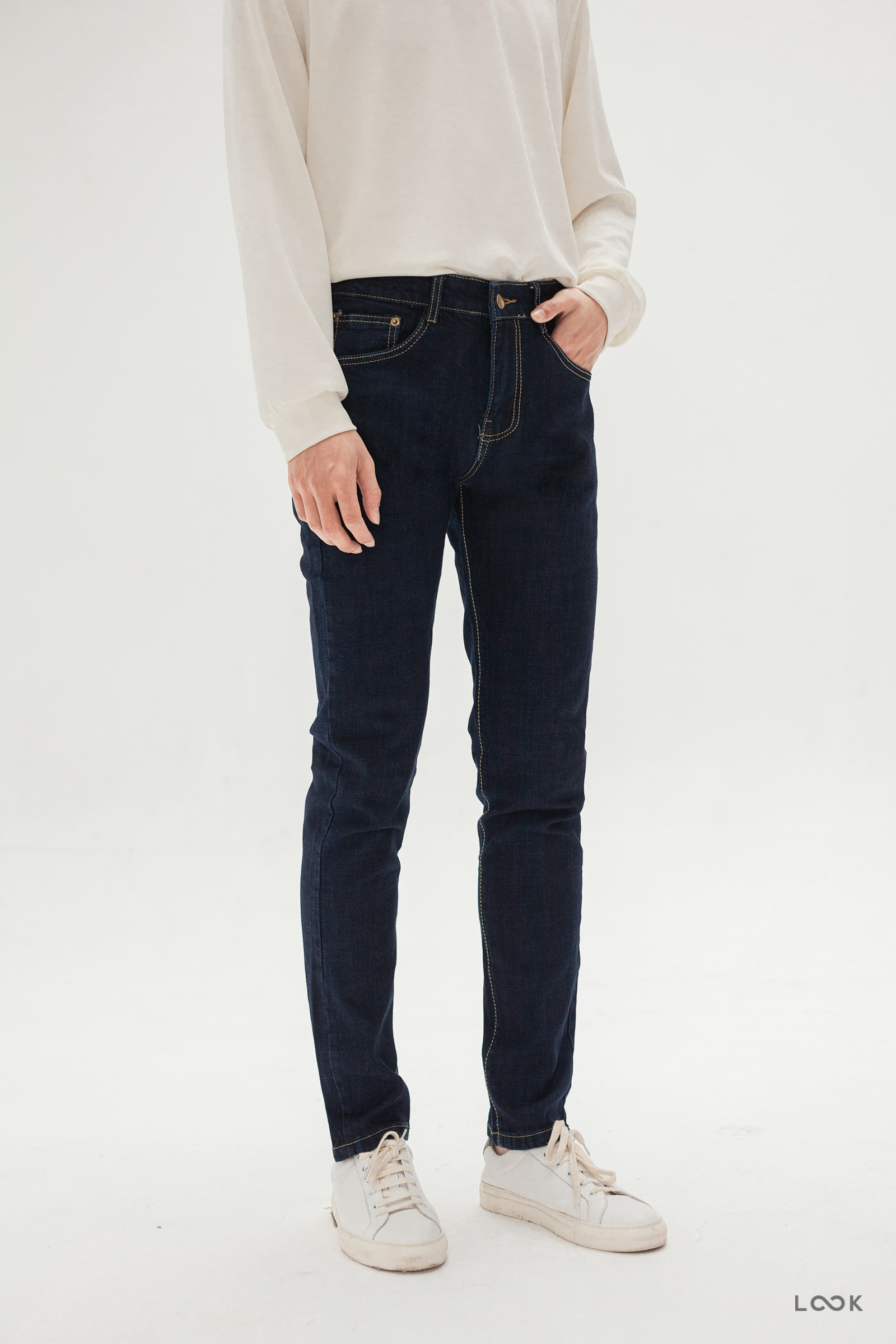 Look Polo Blue Jean