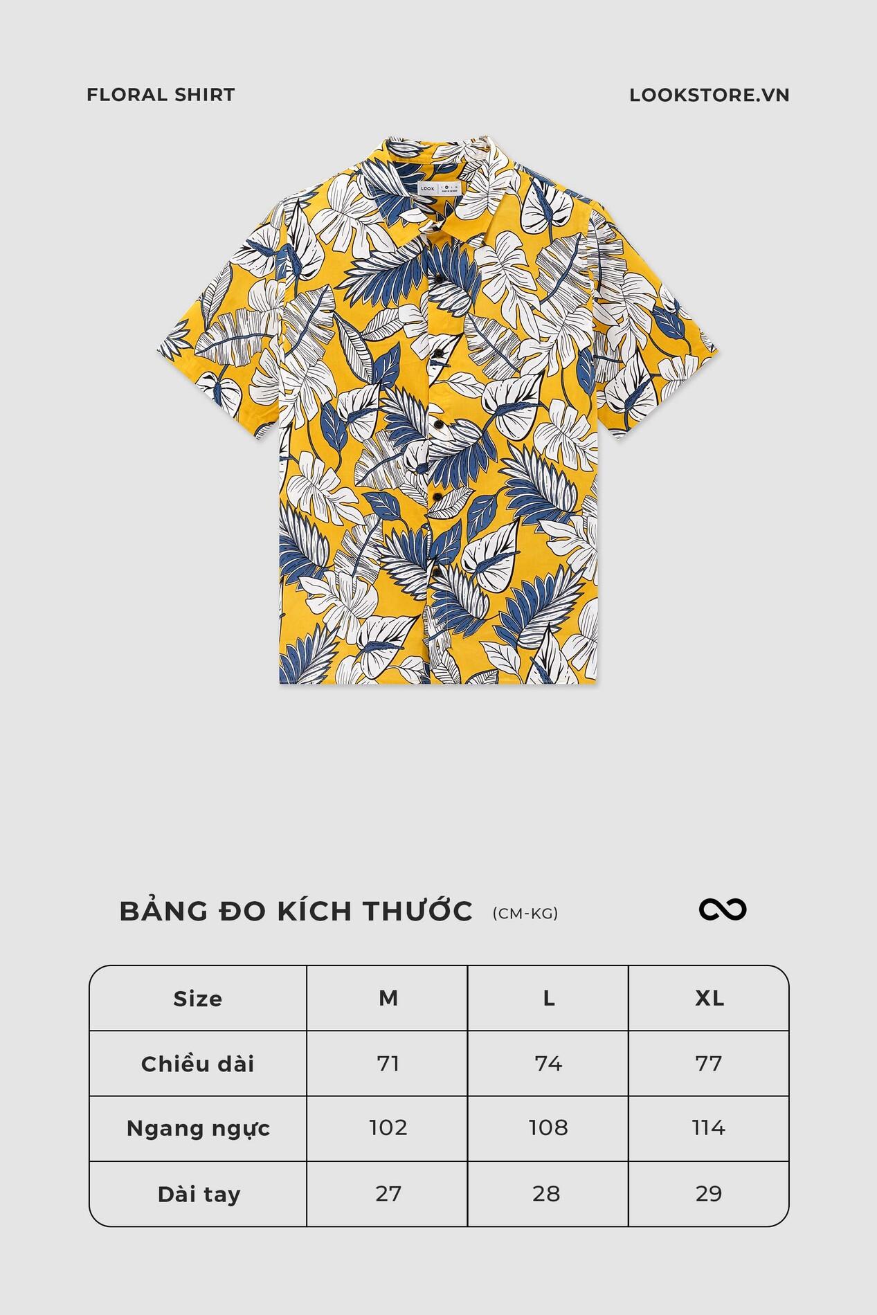 Look Floral Shirt